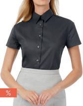 Twill Shirt Sharp Short Sleeve / Women