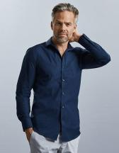 Men`s Long Sleeve Fitted Ultimate Stretch Shirt