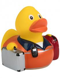 Quietsche-Ente Rettungssanitäter